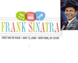 FRANK SINATRA First Day Issue NEW YORK - $3.95