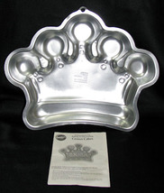Wilton 2006 Princess Crown Cake Pan w/ Directions  - $14.99