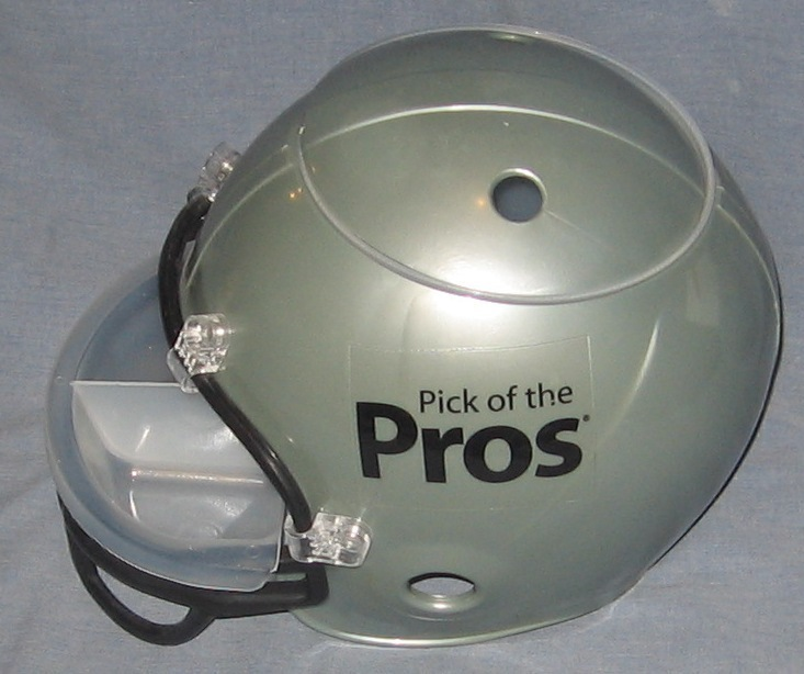 Pick of the Pros Chips and Dip Football Helmet - Wells Fargo