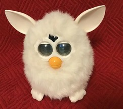 "Furby Model 70-800 White ""SNOWBALL"" Series 1 Electronic Furbie: Box Not Included - $49.50"