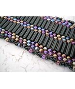 """Sticks & Stones"" Bracelet: Black  With Iridesc... - $32.00"