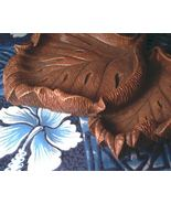 CoCo Joe's Breadfruit Leaf Nut Dish Hapa-Wood Aloha Hawaii HW cocojoe's - $16.00
