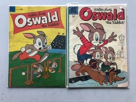 Lot of 2 Four Color (1942 Series 2) #507 697 Oswald - $19.80