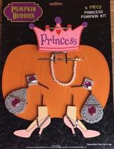 Pumpkin Buddies 6 Piece Princess Pumpkin Decorating Kit - $11.39