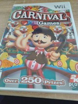 Nintendo Wii Carnival Games - COMPLETE image 1
