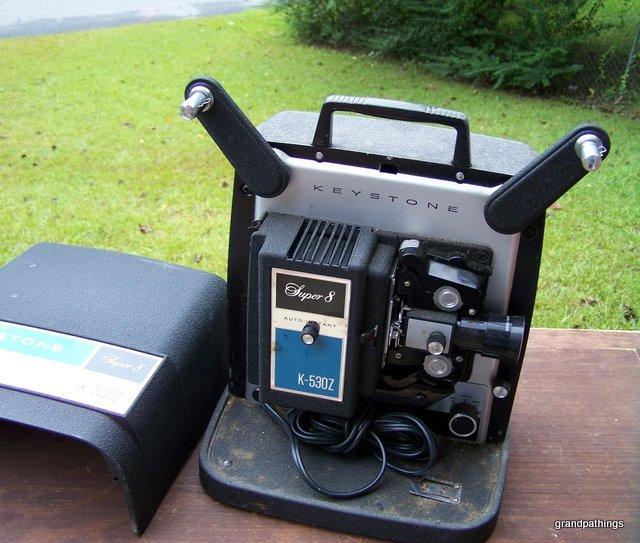 Vintage keystone super 8 k - 530Z movie camera
