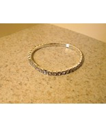 BRACELET FAUX DIAMOND CRYSTAL TENNIS BRACELET #836 - $10.99
