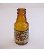Vintage Mini Brown Glass Acme Breweries San Francisco Calif Beer Bottle ... - $8.99