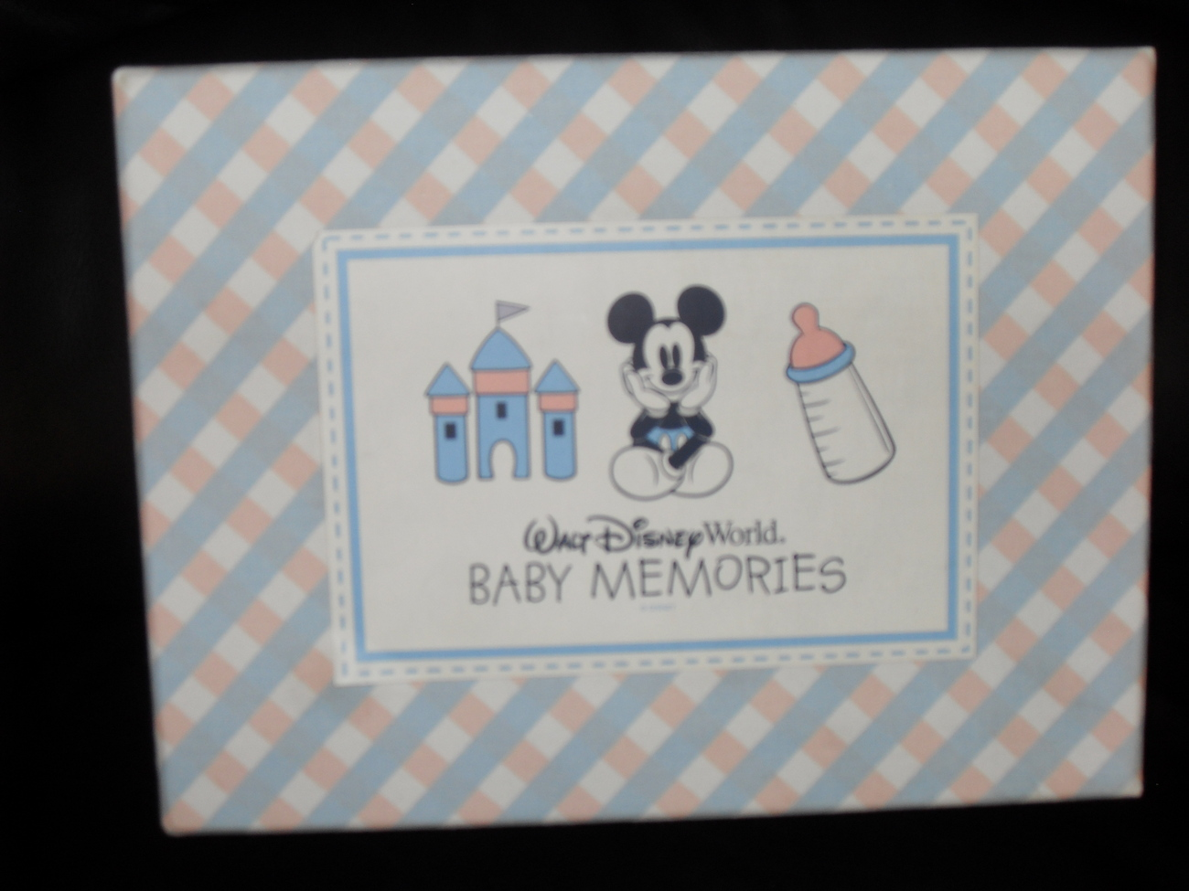 Walt Disney World Baby Memories  Boxed Album Set