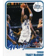 Fleer Tradition Sharp Shooters Tracy McGrady Magic Pistons - $1.55