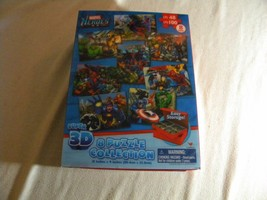 Marvel Heroes Super 3D 8 Puzzle Collection - $19.80