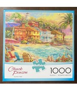 Island Time -1000 Piece Jigsaw Puzzle by Buffalo Games - art by Chuck Pi... - $10.05