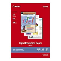 Canon High Resolution Paper 50Sheet A4  - $27.00