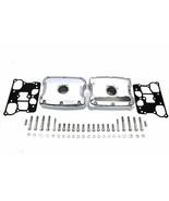 CHROME TOP ROCKER BOX COVERS - HD BT TC-88 FLT-FXST/FLST & FXD MODELS 19... - $426.54