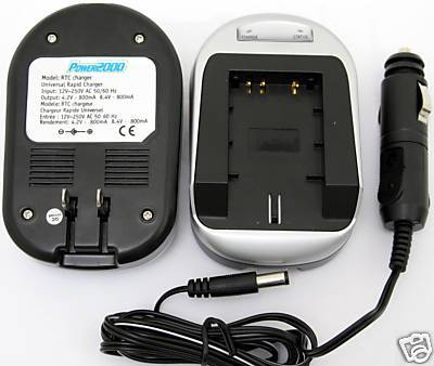 Charger for Panasonic CGR-D16S CGR-D16SE/1B CGP-D210