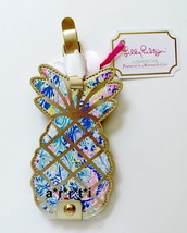Lilly Pulitzer Leatherette Luggage Tag Pineapple Shaped Mermaids Cove NWT - $20.00