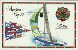 Sailing Ship Cup Sport Sea Ocean Sov. Sheet MNH - $15.30