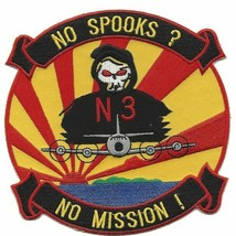 "5""  NAVY USS ORION  P-3  N3 NO SPOOKS NO MISSION EMBROIDERED PATCH - $23.74"