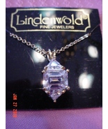 Lindenwold Fine Jewelers Faux Diamond Pendant Necklace  14 K - $8.00