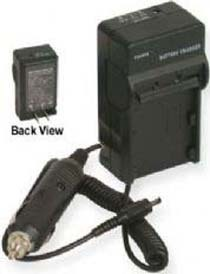 TWO Batteries + Charger for Panasonic DMC-TZ3EG-K DMC-TZ3EG-S DMC-TZ4 DMC-TZ4S