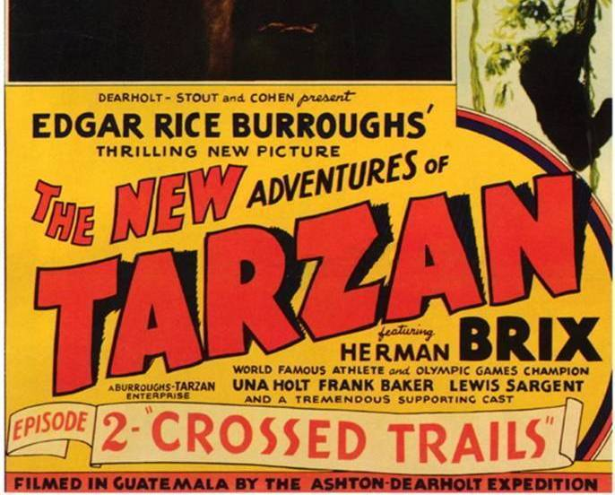THE NEW ADVENTURES OF TARZAN, 12 Chapter serial, 1935