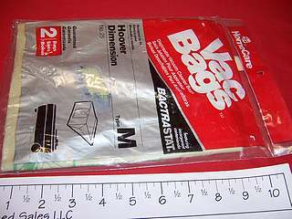 Hoover Type M Vacuum Cleaner Bags with Bactrastat