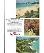 1973 Bermuda holidays vacation travel promo print ad - $10.00