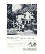 1962 Michigan Greenfield Village Henry Ford Museum print ad - $10.00