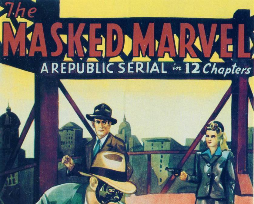 THE MASKED MARVEL, 12 CHAPTER SERIAL, 1943