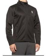 Spyder 'Circuit' Men's Full Zip Fleece Lined Sweater Jacket Medium Black... - $69.29
