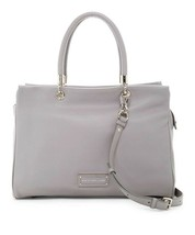 NWT Marc by Marc Jacobs Too Hot to Handle Large Leather Satchel Bag LIGH... - $388.00