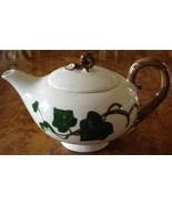 Vintage Pottery Teapot by Poppytrail Metlox California Ivy  - $134.95