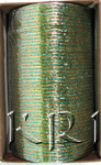 KKLL10F06 4 Dozen Green Metal Bangles Choori with Glitter Handiwork