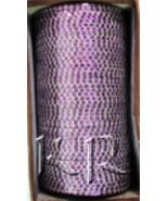 KKLL10D05 4 Dozen Purple Metal Bangles Choori with Glitter Handiwork - $19.29