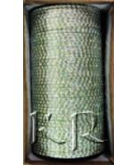 KKLL10C05 4 Dozen Green Metal Bangles Choori with Glitter Handiwork - $19.29