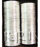 KKLL10I04 12 Dozen Silver Metallic Bangle Choori - $48.24