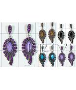KWLL09074 Wholesale lot of 10 pair Designer Hanging Earring - $116.10