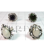 KWLL09048 Wholesale lot of 50 pc Mix Stone Rings - $341.25