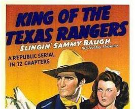 KING OF THE TEXAS RANGERS, 12 CHAPTER SERIAL, 1941 - $19.99