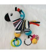 Bright Starts Baby Activity Toy Zebra? Llama? Horse? Crib Stroller Rattl... - $13.17