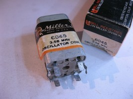 Miller 6045 Coil Tunable Transformer Oscillator 3.58MHz Color TV - NOS Q... - $10.44