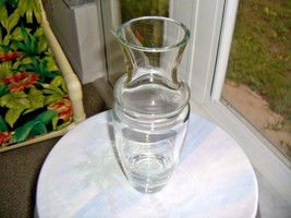 "Vintage 1950's Full Crystal 11"" tall Flower Centerpiece Vase - $19.80"