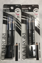 Covergirl Easy Breezy Brow (Set of 2) (One 500 Black + One 505 Rich Brown) - $7.49