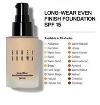 Bobbi Brown LONG-WEAR EVEN Finish Foundation WARM BEIGE 3.5 SPF 15 1oz 3... - $84.50