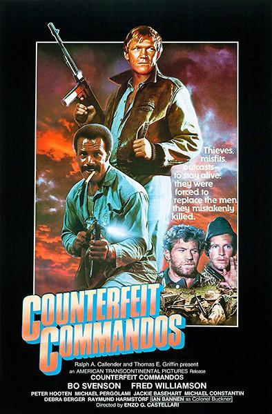 Primary image for Counterfeit Commandos - 1978 - Movie Poster