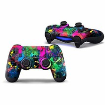Sololife Colorful Paint PS4 Controller Skin Stickers for Sony (Colorful Paint) - $9.99