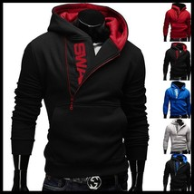 Quality Cotton Us Size XS-3XL Brand hood men hoodies fleece warm pullovers sweat - $42.64