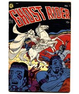 GHOST RIDER #1 1950-ME-PRE-CODE-First issue-Dick Ayers-Comic Book - $873.00