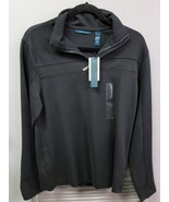 Men's PERRY ELLIS, S, Black, Quarter-zip Pullover SWEATER - $23.41