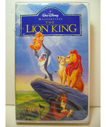 The Lion King VHS 1995 Walt Disney Masterpiece Collection Jonathan Taylo... - $9.89